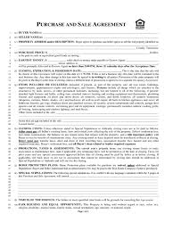 100 free purchase agreement template sample printable
