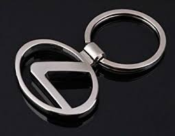 lexus symbol amazon com lexus car logo metal key ring key chain keyring