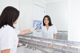 how to clean mirrors in bathroom how to make your bathroom mirror crystal clear fog free splashbook