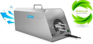 küchengerüche neutralisieren ozongenerator oz75 geruchsbeseitigung sterilsystems