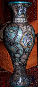 moroccan art history pottery of morocco