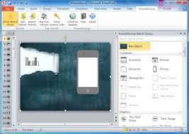 powerpoint website mockup template wireframes of websites in ms