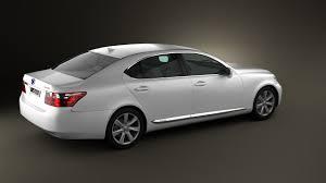 lexus luxury hatchback 360 view of lexus ls xf40 600h 2010 3d model hum3d store