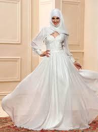 muslim wedding dress sweetheart neckline applique a line floor length muslim