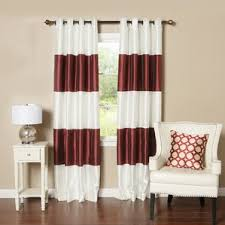 Gold Thermal Curtains Red Silk Curtains U0026 Drapes You U0027ll Love Wayfair