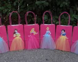 princess candy bags disney princesses 12 birthday party favor bags