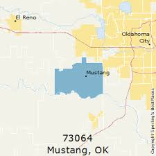 oklahoma zip code map best places to live in mustang zip 73064 oklahoma