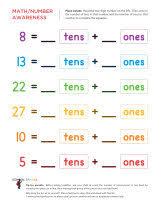 place value worksheets sparks