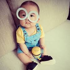 Toddler Minion Costume 23 Halloween Costumes For Bald Babies Rookie Moms