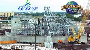 volcano bay construction may 2016 universal s water park
