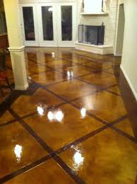 Photos Of Stained Concrete Floors by Decorative Concrete Overlay In Flower Mound Tx Holland Custom
