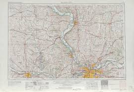 Western Colorado Map by Kansas City Topographic Maps Ks Mo Usgs Topo Quad 39094a1 At 1