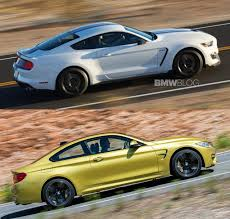 nissan gtr vs bmw m4 should the bmw m4 fear the shelby gt350