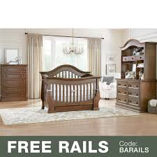 Convertible Crib Furniture Sets by Baby Appleseed 4 Piece Nursery Set Davenport 3 In 1 Convertible