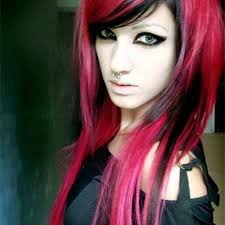 red and black hair color ideas hair x