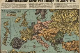 Map Of Europe In 1914 by Extraordinary Illustrated War Maps Tell The Story Of 20th Century