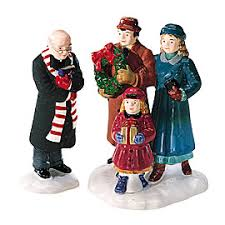 snow accessories department 56 lit villages and