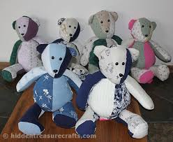 remembrance teddy bears how to make a memory treasure crafts and quilting