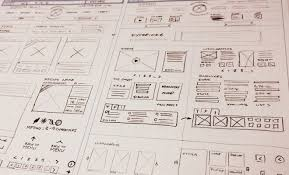 drafting tips for creative wireframe sketches