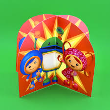 team umizoomi 3d table topper nickelodeon parents