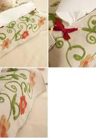 tarohome flower embroidered linen cotton tissue box cover amazon