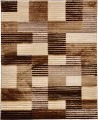 Brown Shag Area Rug by Multi 6 U0027 7 X 8 U0027 2 Textured Shag Rug Area Rugs Esalerugs