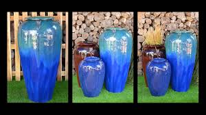vietnamese outdoor glazed ceramic pots youtube