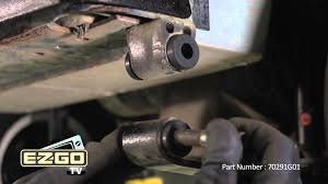 how to replace bushings for e z go heavy duty leaf springs youtube