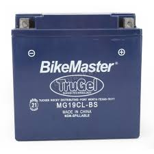 bikemaster trugel 12 volt battery mg19cl bs atv u0026 utv dennis