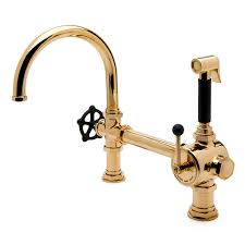 Waterworks Kitchen Faucets Waterworks Regulator Gooseneck Single Spout Kitchen Faucet