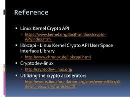 slideshare api slideshare linux crypto