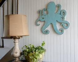 octopus decor etsy