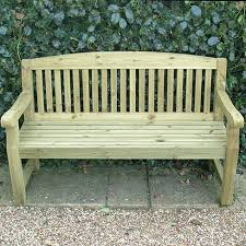 medium garden bench seat u003e garden furniture tate fencing