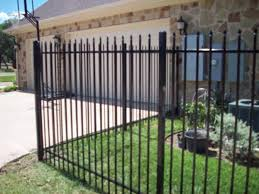 pressed spear wrought iron fences apple fence company