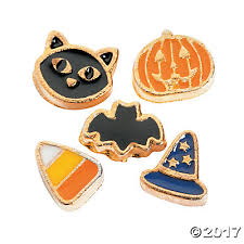 halloween floating locket charms