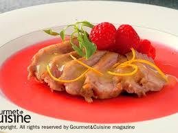 duck in cuisine duck breast with duo sour sauce ส ตรจาก gourmetandcuisine com