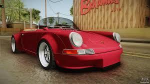 porsche speedster 2017 porsche 911 rwb speedster 1984 for gta san andreas
