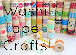 diy washi crafts