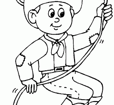 unique cowboys coloring pages 34 about remodel line drawings with