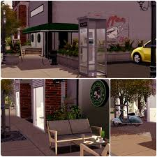 urban living by simberry coffee shop download sims 3
