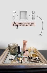 Makeup Vanity Tray Glass Vanity Tray For Dresser Home Vanity Decoration
