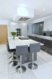 light grey acrylic kitchen cabinets acrylic high gloss grey kitchen two tone contemporary