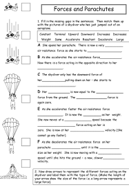 forces and parachutes by physics teacher teaching resources tes