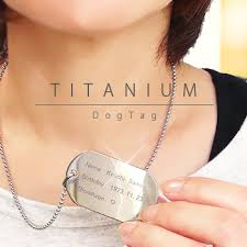 titanium dog tag necklace images Auc eternal rakuten global market titanium id plate dog tag jpg