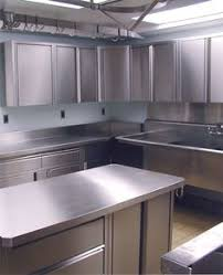 Painted Metal Kitchen Cabinets Stainless Steel Kitchen Peri Wolfman Love This Big Stainless