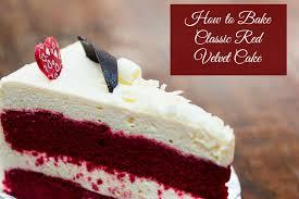 classic red velvet cake recipe recipe mash