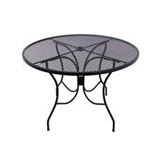 arlington house jackson oval patio dining table cheery wrought iron patio set hexagon patio table for chairs sturdy