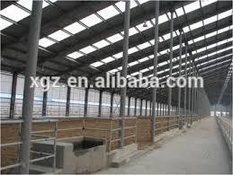 prefab steel structure cattle farm and dairy farm design buy