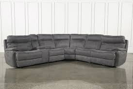 Fabric Sectional Sofa With Recliner by Sectional Sofa With Recliner And Queen Sleeper Winsome Full Size