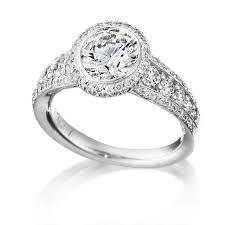 ritani engagement rings 80ct ritani vita collection 18k white gold halo